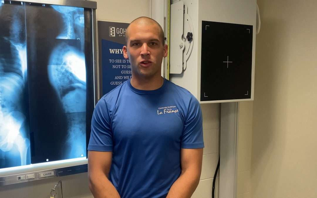 After 3 treatments using the Gonstead system, Marine with excruciating back pain and walking and breathing issues reports he achieved 1st place in prestigious dive school with no pain